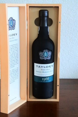 Taylor's Singel Harvest Port 1966 Limited Edition