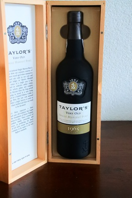 Taylor's Very Old Single Harvest Port 1965 limited edition